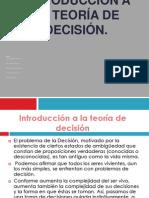 Equipo 1 Introducción a la teoría de decisión Unidad 1