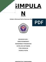 Sistem Informasi Pengisian KRS