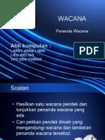 WACANA, penanda wacana