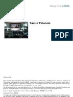INSEAD Case - Bazile Telecom