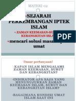 Materi 12 Ok Sejarah Perkembangan Iptek Islam