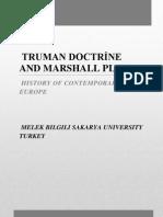 Marshall and Truman