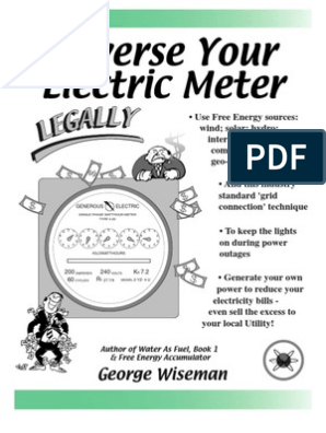 Reverse Your Electric Meter, Legally (preview) | Kilowatt Hour