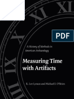 22532909 Lyman O Brian Measuring Time With Artifacts a History of Methods in American Archaeology(1)