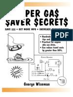 Super Gas Saver Secrets  (preview)