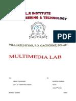 Multimedia practical