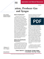 Gasification-Producer Gas- And Syngas