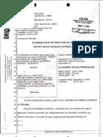 Plaintiff's Initial Witness List