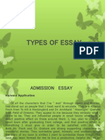 Examples of Essay