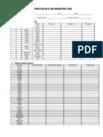 6.1 Protocolo de Registro SAF