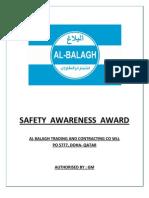 SAFETY  AWARNESS  AWARD.docx
