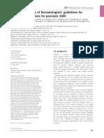 Biologics Guidelines 2009