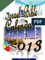 Bible Calendar 2013