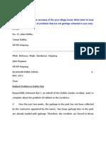 Surat Kiriman Rasmi BIINGGERIS-Bi