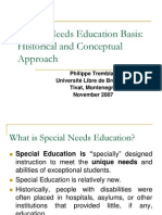 History Inclusive Education
