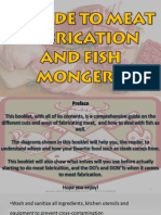 Sample Butcher and Fishmonger's Guide