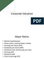 12 Corporate Valuation