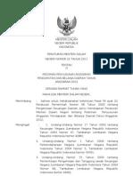 Permendagri No 22 Tahun 2011 Tentang Pedoman Penyusunan Anggaran Pendapatan Dan Belanja Daerah Tahun Anggaran 2012