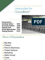 Business Plan Green Brick