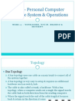 Personal Computer Hardware System & Operations