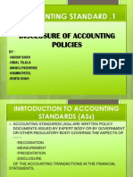 Accounting Standard as 1 Presentation