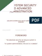 Unix+Security+Advanced+Admin+ Session1 Feb7