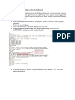 Cara Memberikan Password Dapat Folder Secara Manual