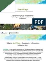 GeoVillage Concept