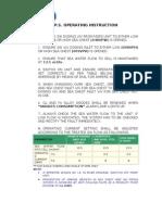 MGPS Operating Instruction