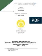 Tugas Uji Preklinik- Metode Uji Antimikroba- Amelia Febriani (1206179170)