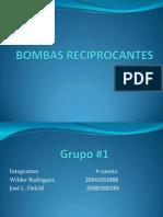 Bombas Reciprocantes1