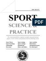SPORT - Science & Practice - Vol2 No4