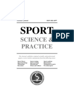 SPORT - Science & Practice - Vol. 1 No 1