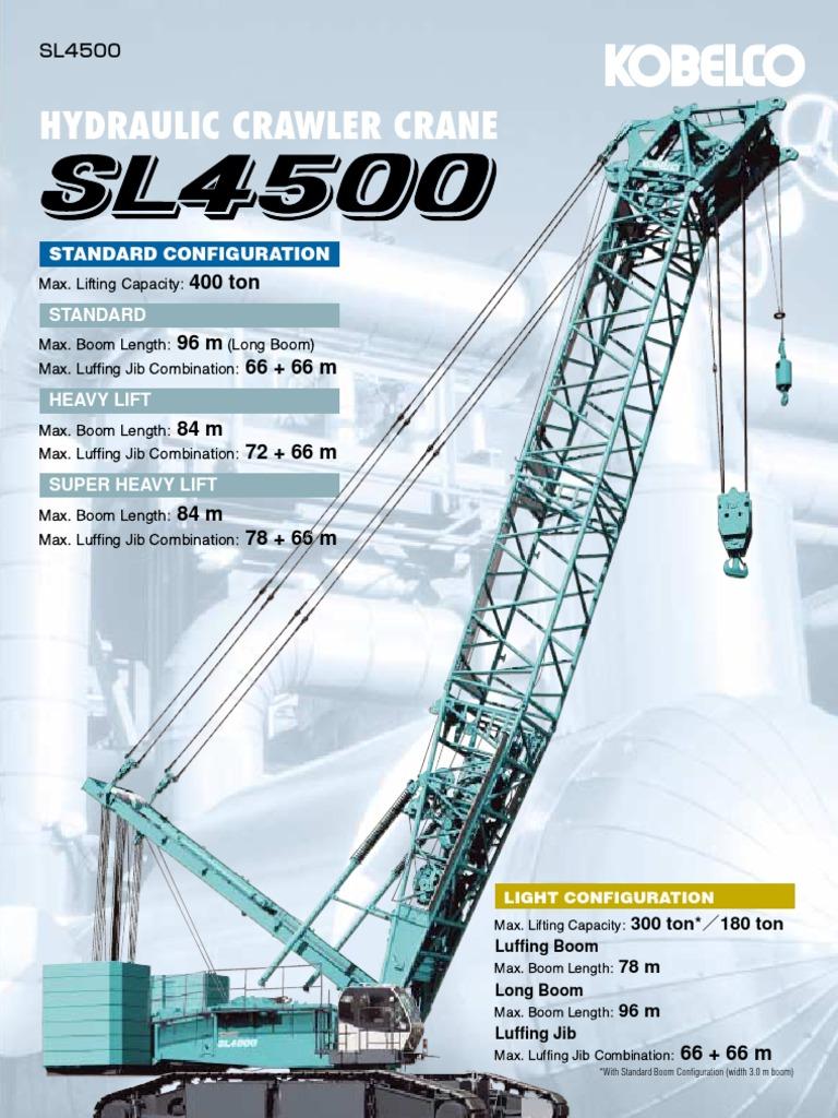 SL4500-std | Crane (Machine) | Engines