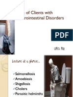 Care of Clients With Gastrointestinal Disorders