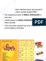 Amul Ppt - Advanced Marketing