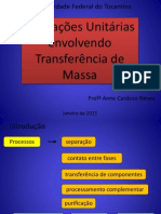 OP Envolvendo Transferencia de Massa 2-2012