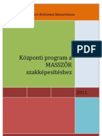 Központi Program a Masszőr szakképzéshez