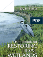 084939063X - CRC - Handbook for Restoring Tidal Wetlands - (2000)