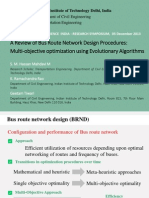 Bus Route Network Design Procedures