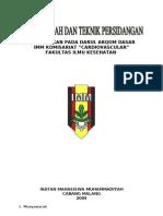 MAKALAH Musyawarah Dan Teknik Persidangan__Fix