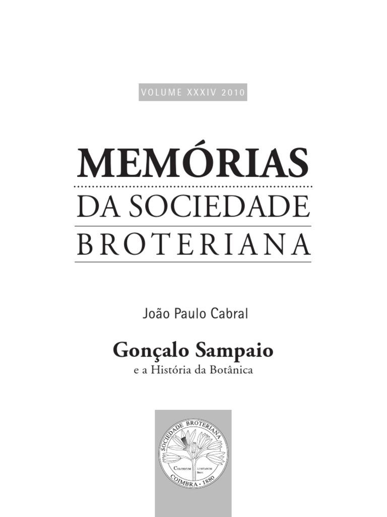 Memorias soc broteriana 34 fandeluxe Image collections