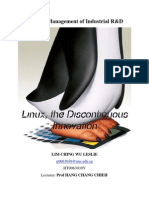 MT5002 - Linux the Discontinuous Innovation