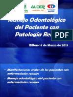 Manejo Odontológico del Paciente con Patología Renal-ALCER