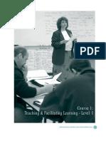 Teaching Facilitating Learning 1