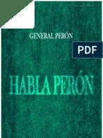 33411019 Juan Domingo Peron Habla Peron