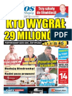 Głos Sportowy 11.03.2013