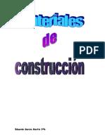 Materiales de Construccíon