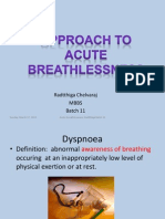 CME- Breathlessness Rad