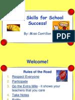 Study Skills 1 A